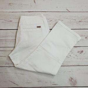 Levi's Signature White Capri Jeans Size 4 Stretch